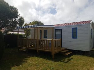 location mobil-home terrasse couverte camping 2 étoiles saint jean de monts
